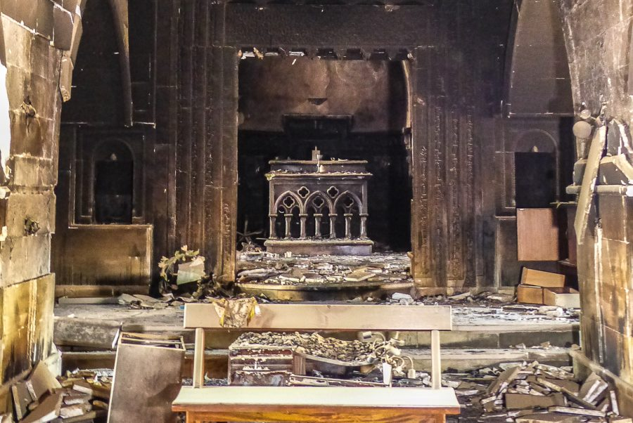 The Church of Mar Behnām and Mart Sārah in Baghdede (Qaraqosh